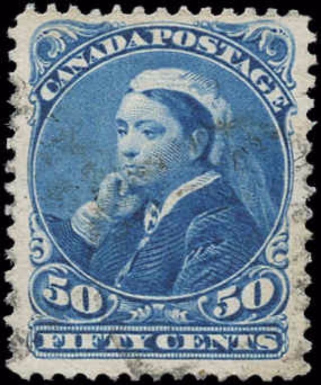Canada ##47, Small Queen Issue, F-VF, Used