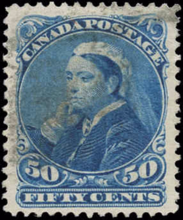 Canada ##47, Small Queen Issue, VF, Used