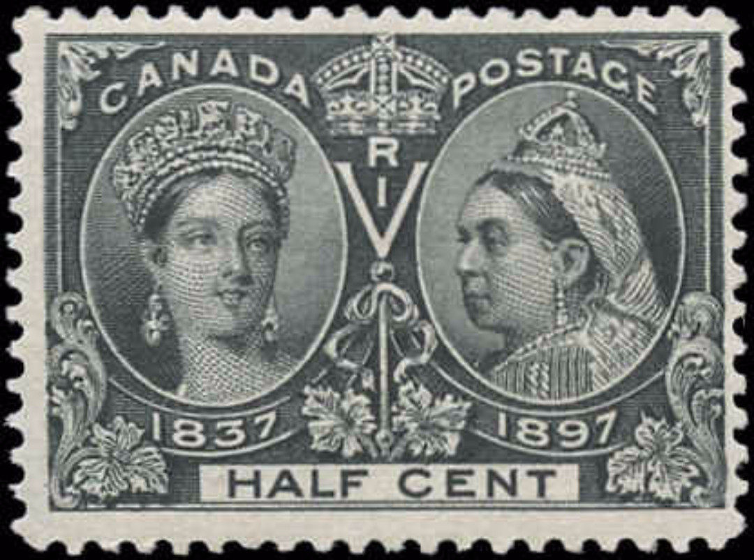 Canada ##50, Jubilee Issue, F+, MH