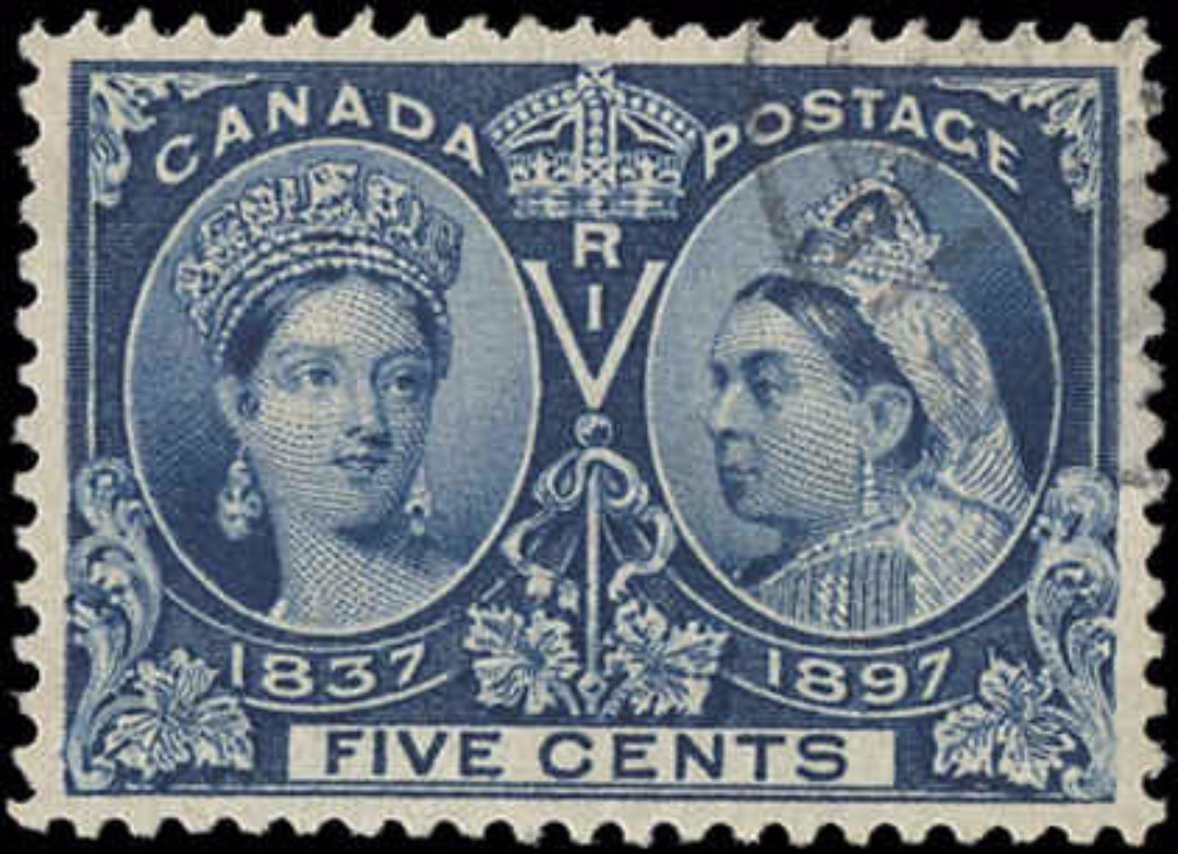 Canada ##54, Jubilee Issue, VF, Used