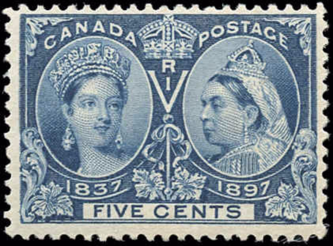 Canada ##54, Jubilee Issue, F+, MH