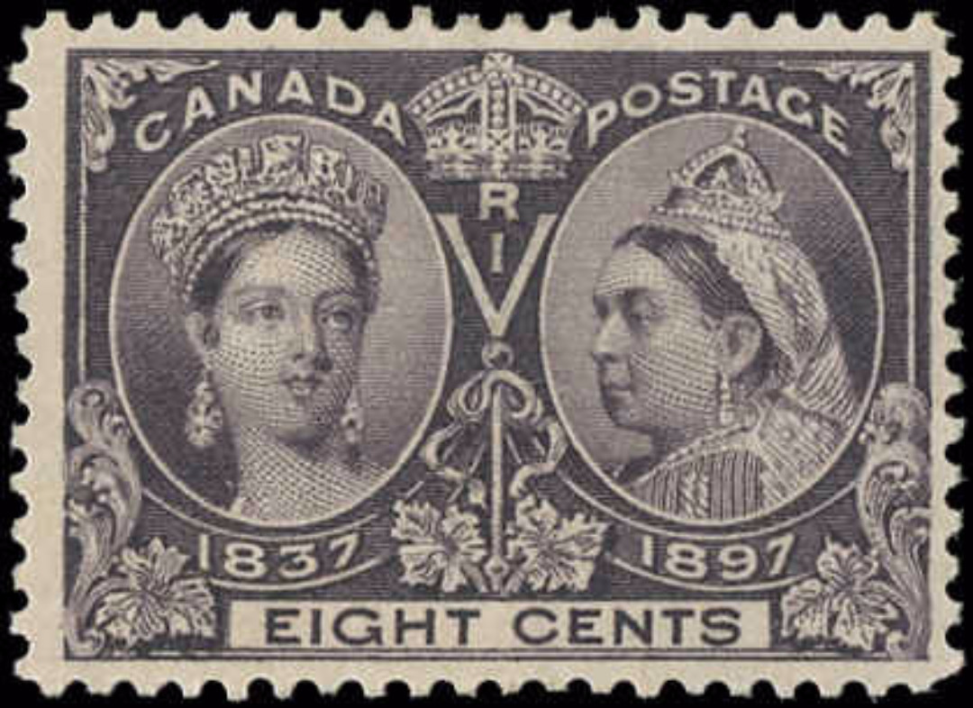 Canada ##56, Jubilee Issue, F-VF, Mint-no gum