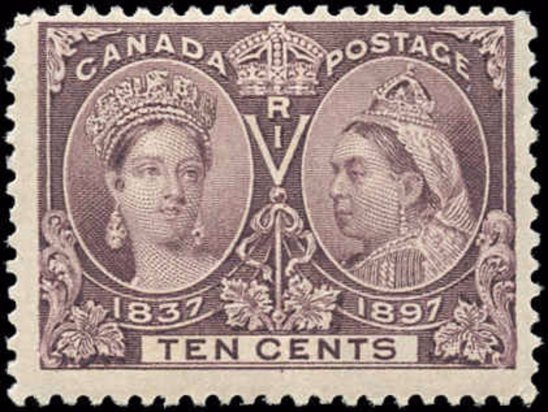 Canada ##57, Jubilee Issue, F+, MH