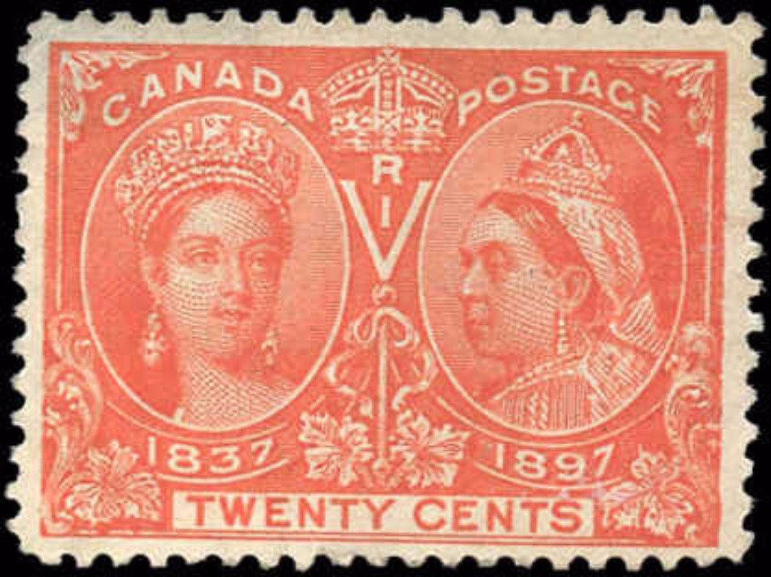 Canada ##59, F+, Jubilee Issue, Mint-no gum