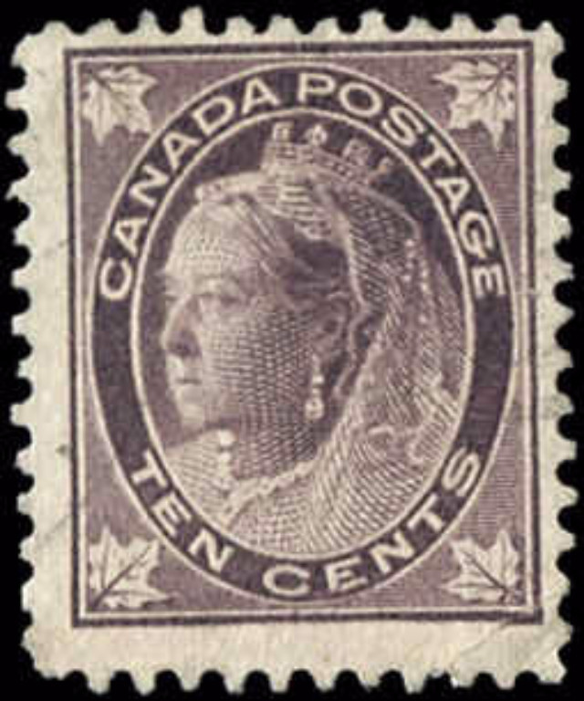 Canada ##73, Maple Leaf Issue, F, Used
