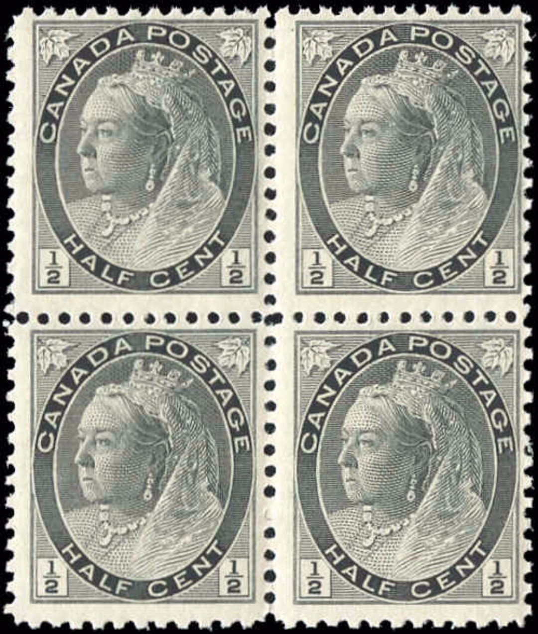 Canada ##74, Numeral Issue, F, MNH
