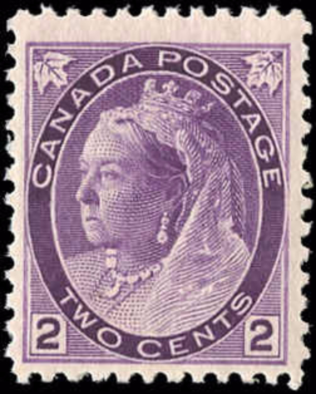 Canada ##76, Numeral Issue, F-VF, MNH
