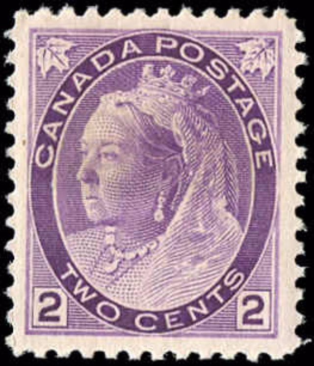 Canada ##76, Numeral Issue, VF, MH