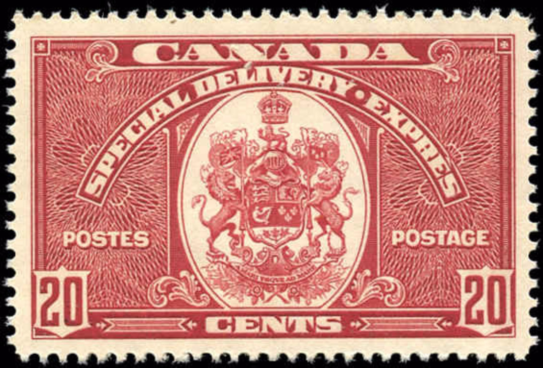 Canada #E8, Special Delivery Issue, VF, MNH