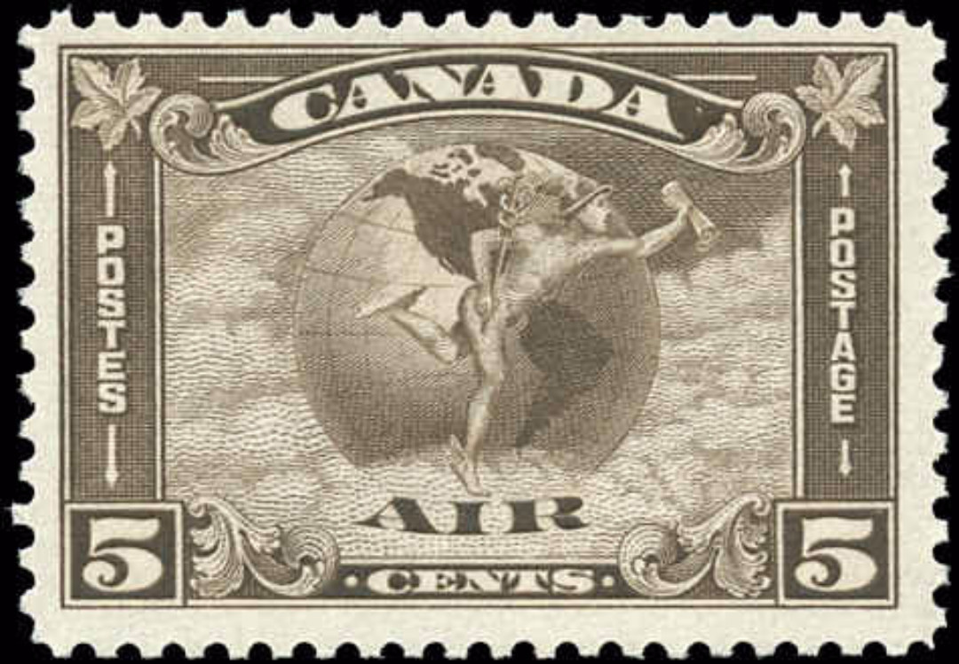 Canada #C2, Airmail Issue, F+, MNH