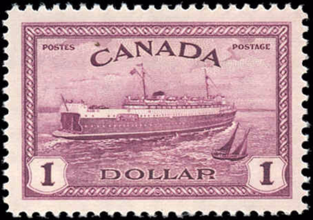 Canada #273, Peace Issue, VF, MNH