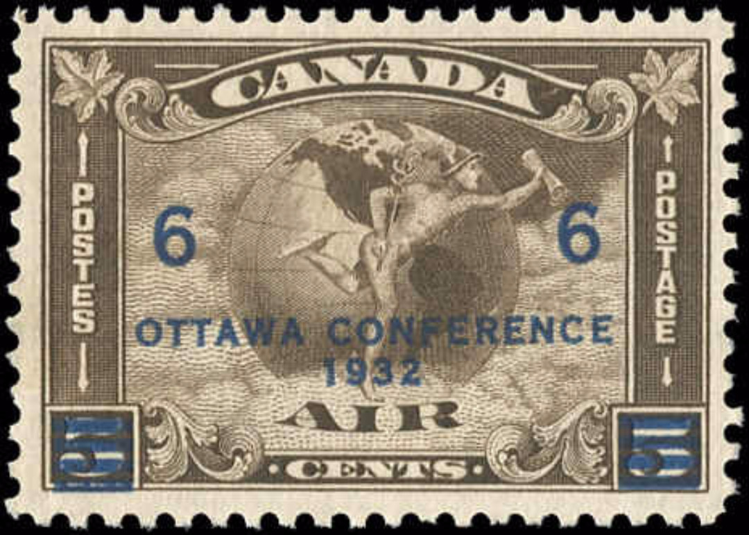 Canada #C4, Airmail Issue, VF, MNH