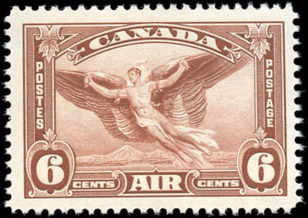 Canada #C5i, Airmail Issue, VF, MNH