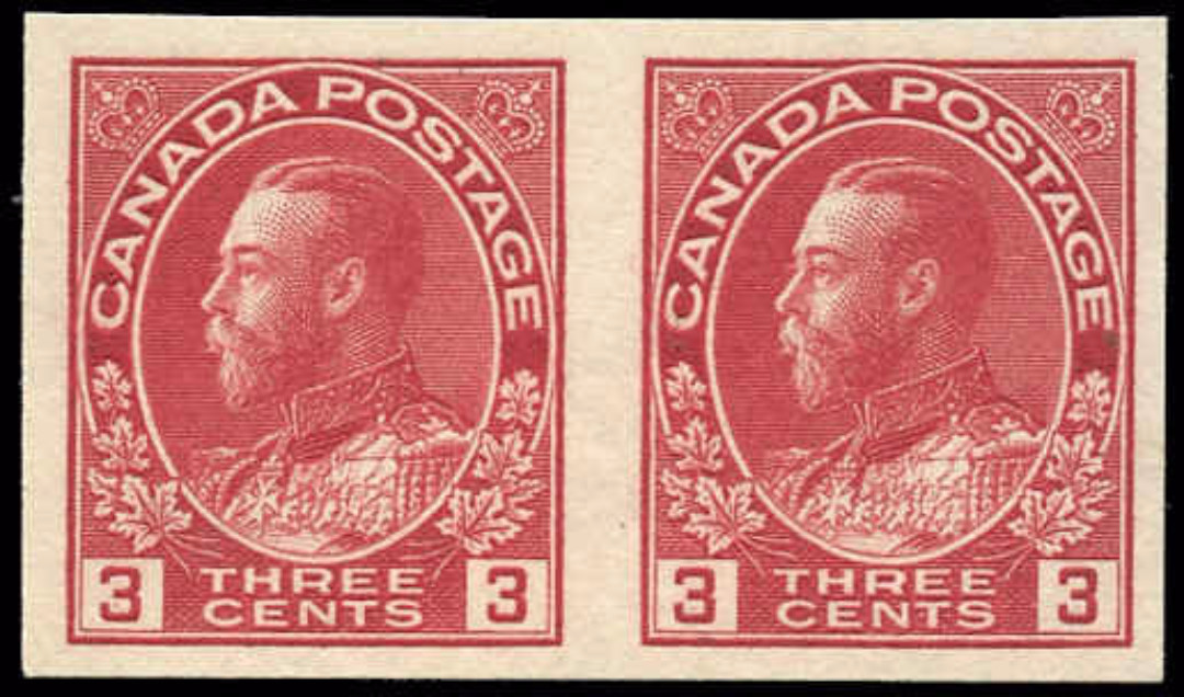 Canada #138, Admiral Issue, VF, MNH