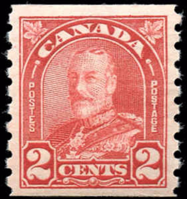 Canada #181, Coil Arch/Leaf Issue, VF, MNH