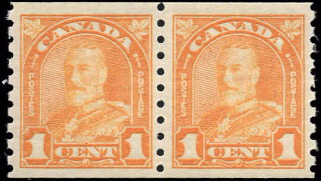 Canada #178, Coil Arch/Leaf Issue, VF, MNH