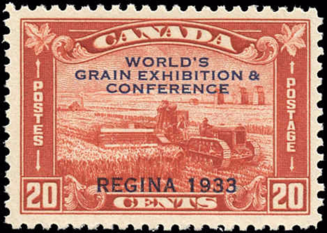 Canada #203, Grain Issue, VF, MNH