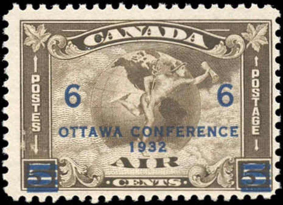 Canada #C4, Airmail Issue, F, MNH