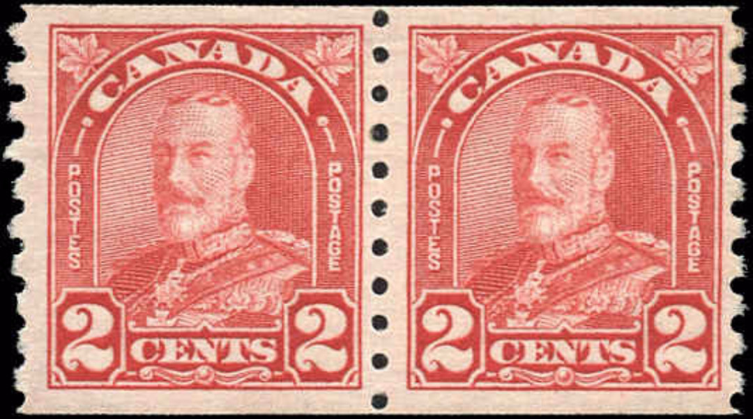 Canada #181, Coil Arch/Leaf Issue, F-VF, MNH