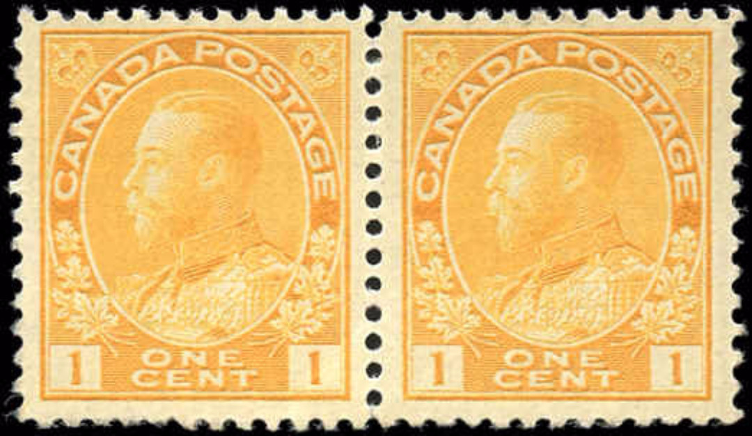 Canada #105, Admiral Issue, F, MNH