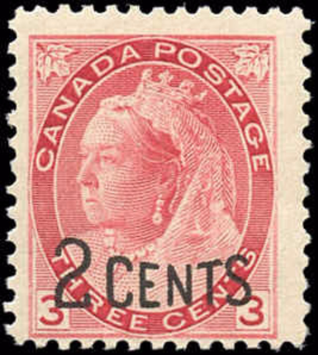 Canada ##88, Provisional Issue, F, MNH