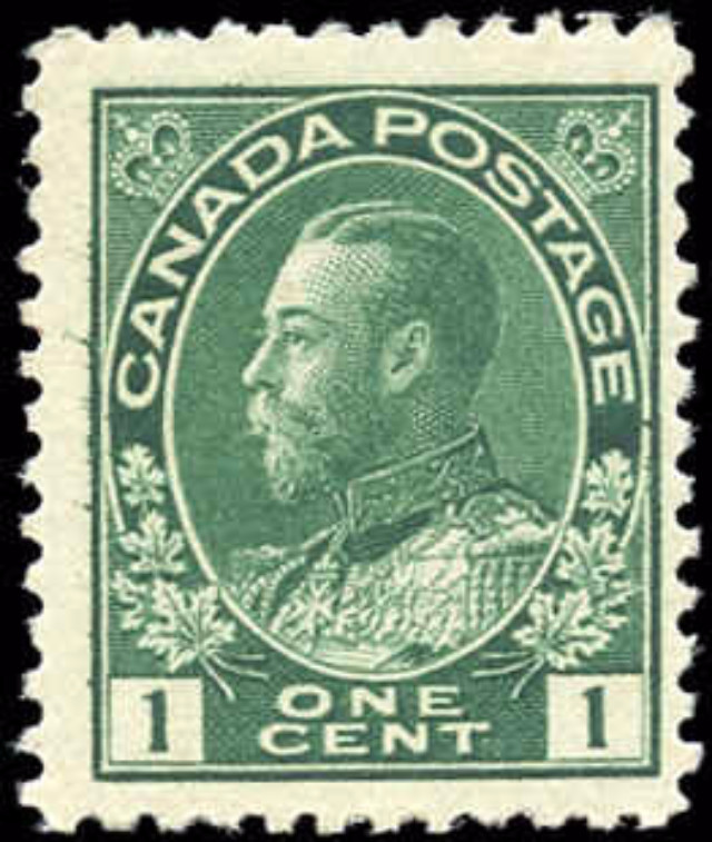 Canada #104, Admiral Issue, F+, MNH