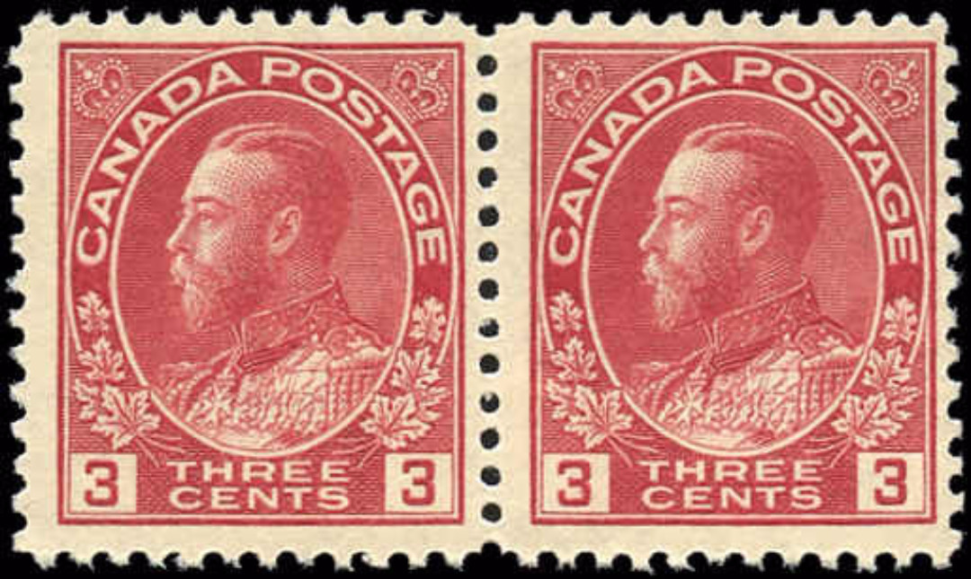 Canada #109, Admiral Issue, F, MNH