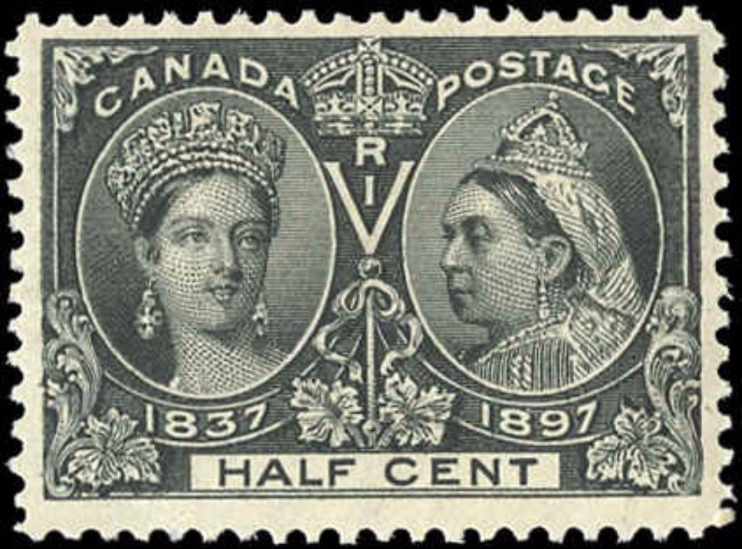 Canada ##50, Jubilee Issue, F-VF, MH