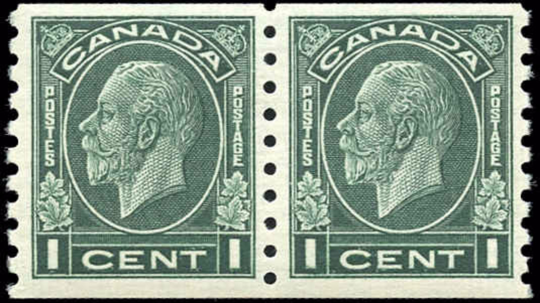 Canada #205, Coil Medallion Issue, F-VF, MNH