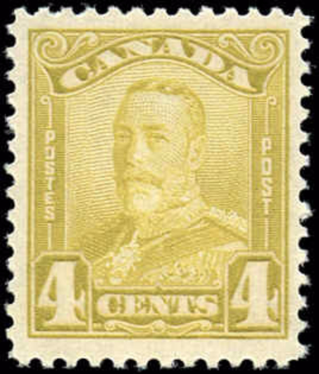 Canada #152, Scroll Issue, F-VF, MNH