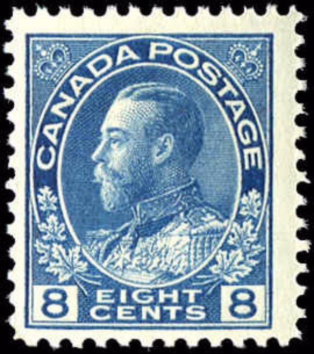 Canada #115, Admiral Issue, F, MNH