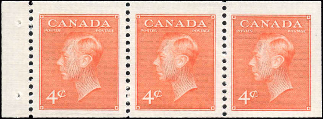 Canada #306a, Coil Pste-Pstge Issue, F-VF, MNH