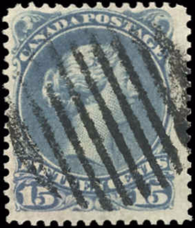 Canada ##30b, Large Queen Issue, F+, Used