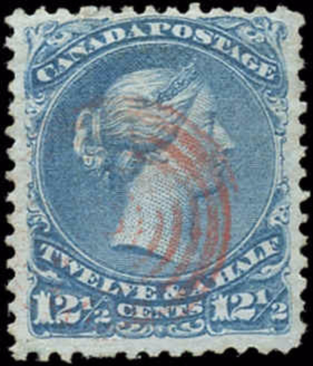 Canada ##28i, Large Queen Issue, VF, Used