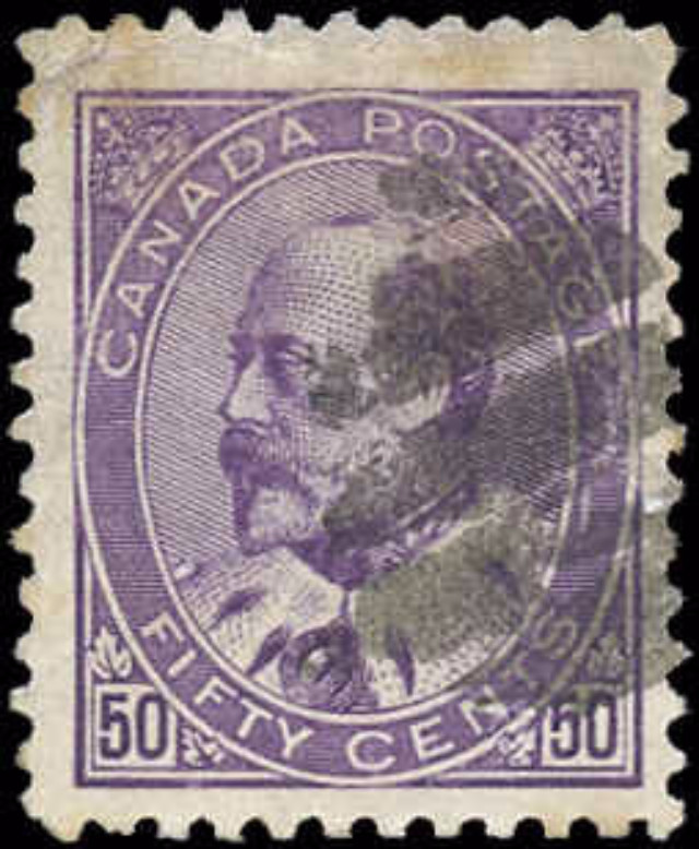 Canada ##95, King Edward Issue, F-VF, Used