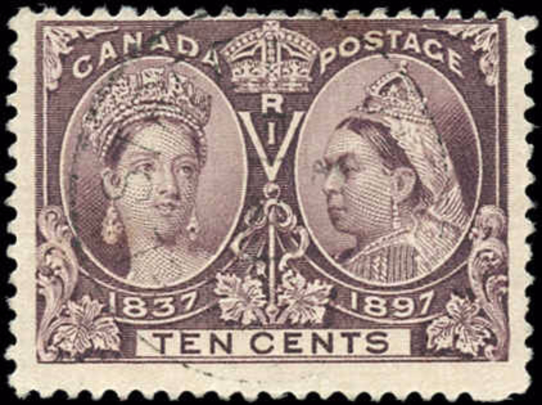 Canada ##57, Jubilee Issue, F+, Used
