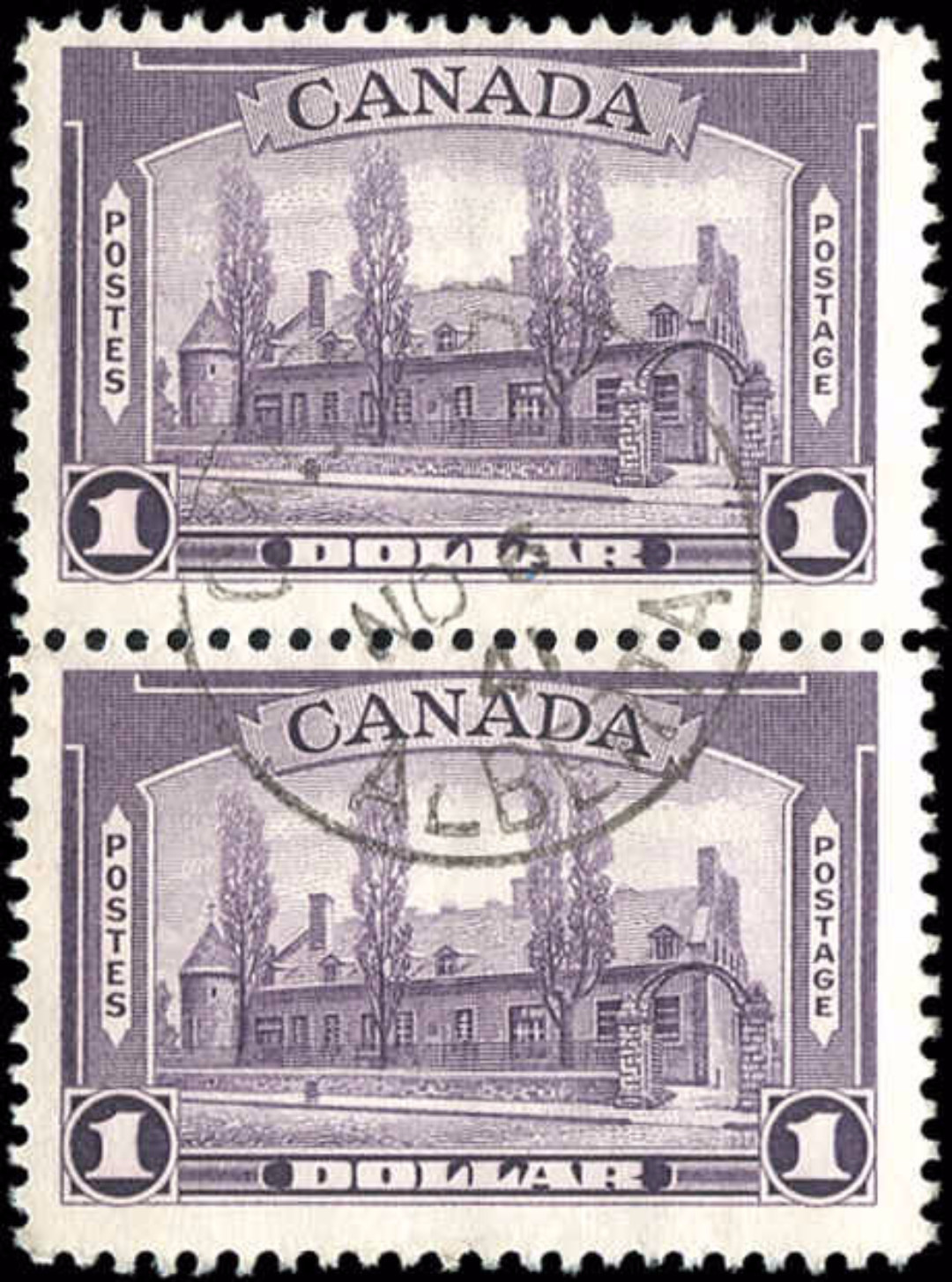 Canada #245, 1938 Pictorial Issue, F-VF, Used