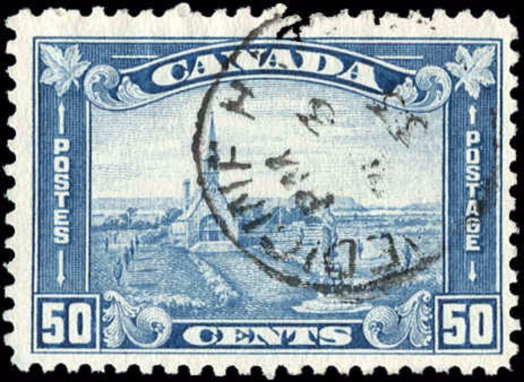 Canada #176, Arch/Leaf Issue, F-VF, Used