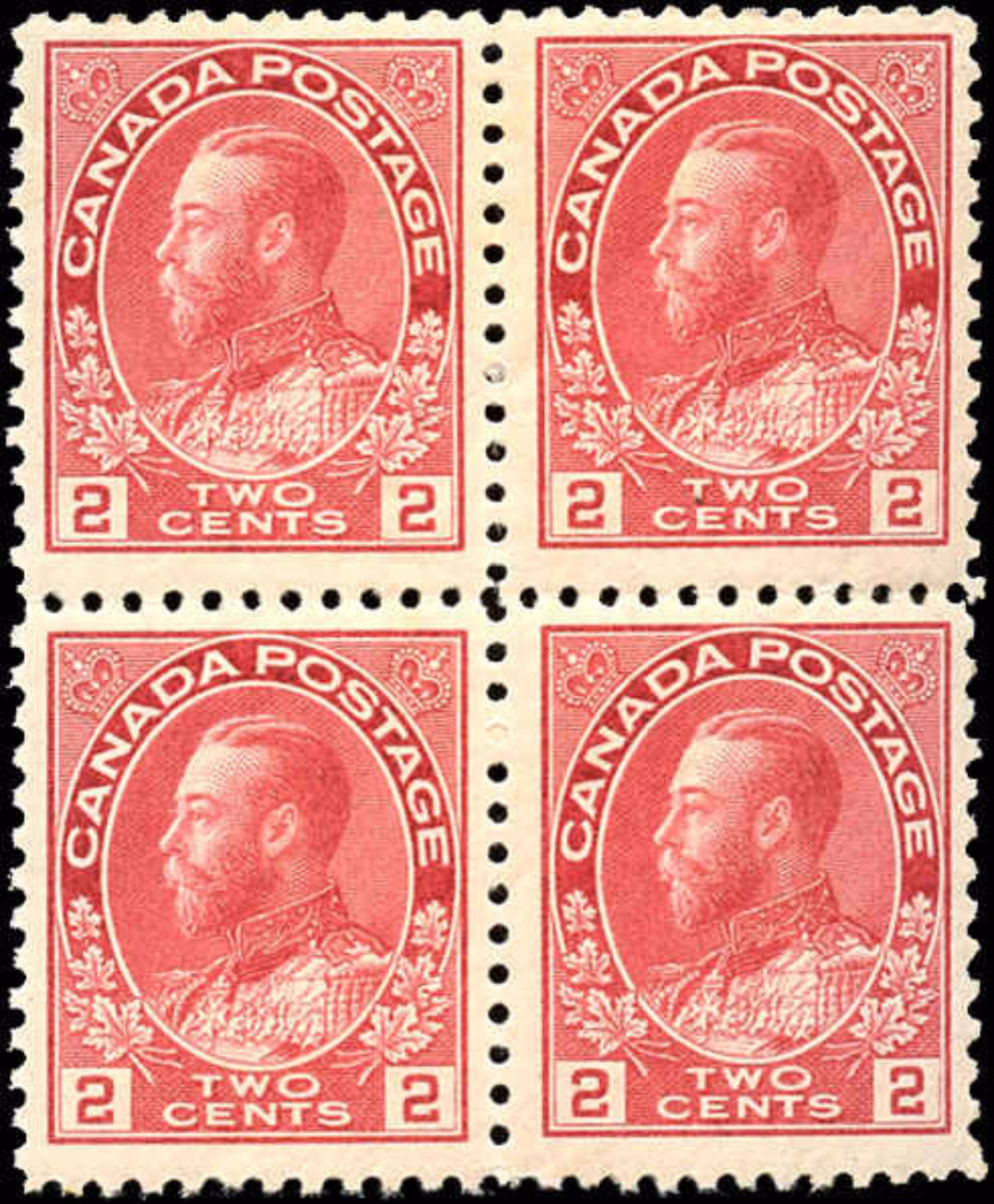 Canada #106c, Admiral Issue, F-VF, MNH