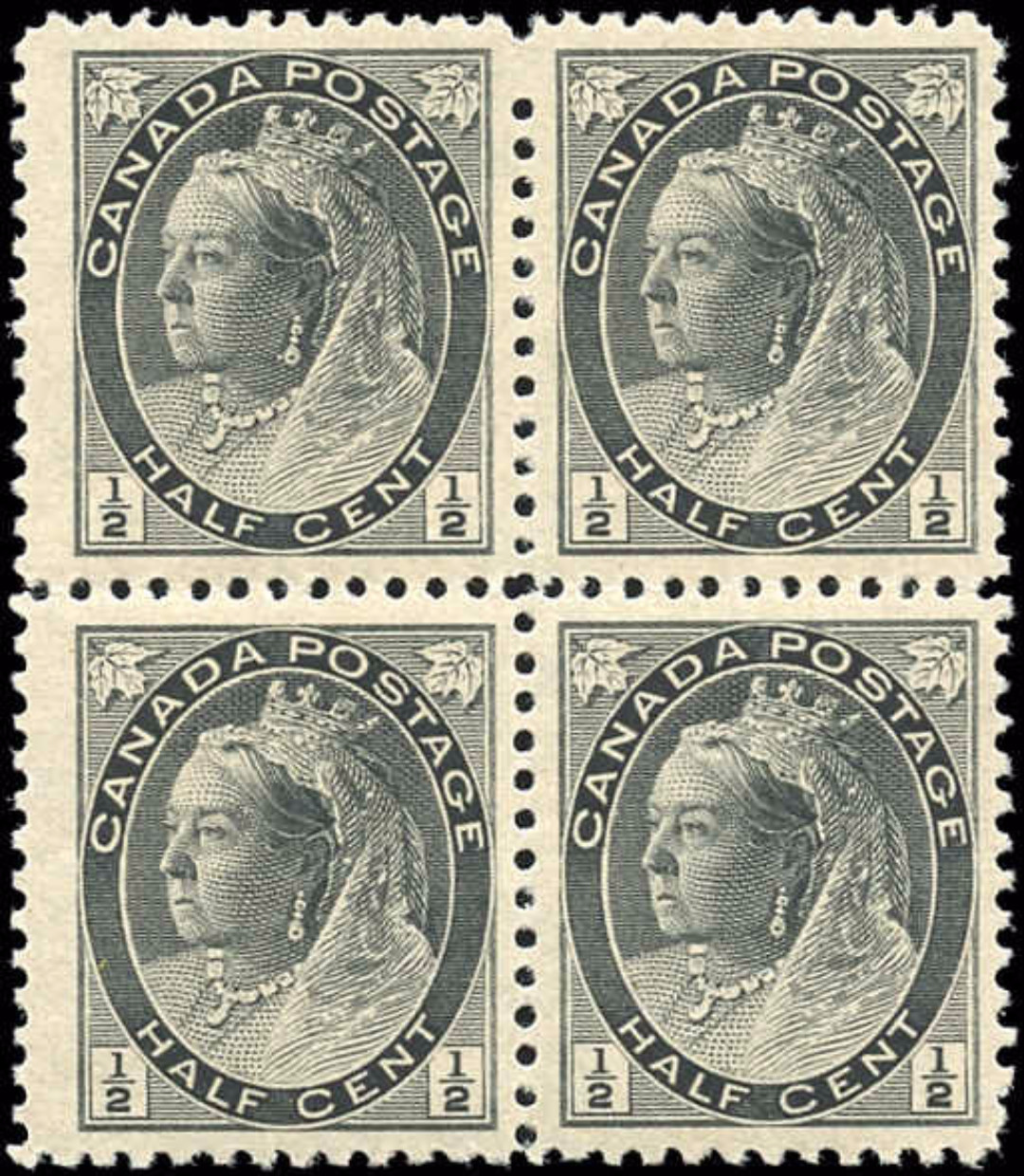 Canada ##74, Numeral Issue, F-VF, MNH