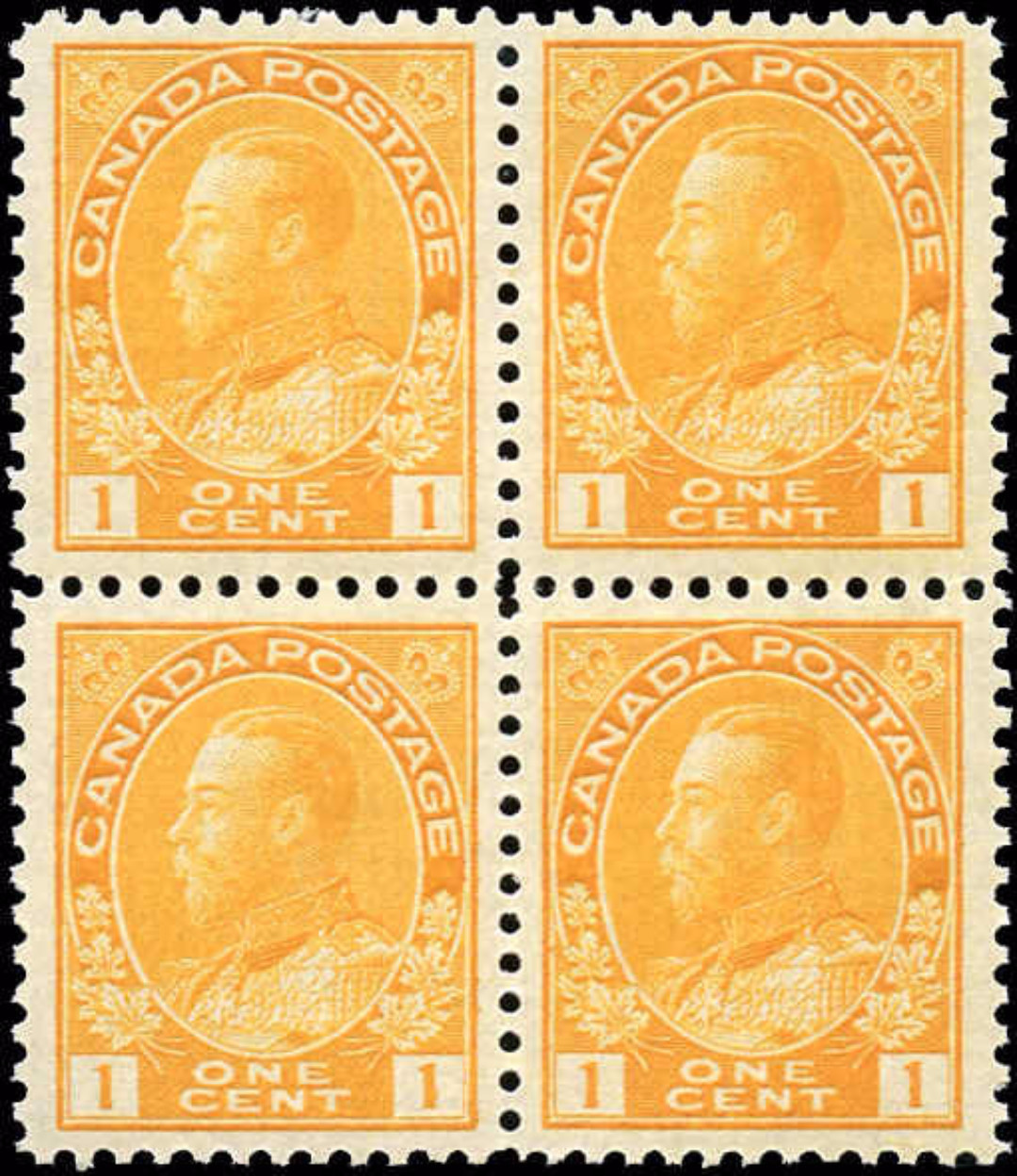 Canada #105, Admiral Issue, F-VF, MNH