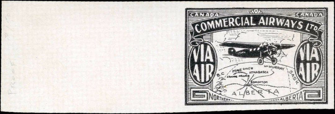 Canada #CL47P, Air Post Semi-Official, Mint, VF