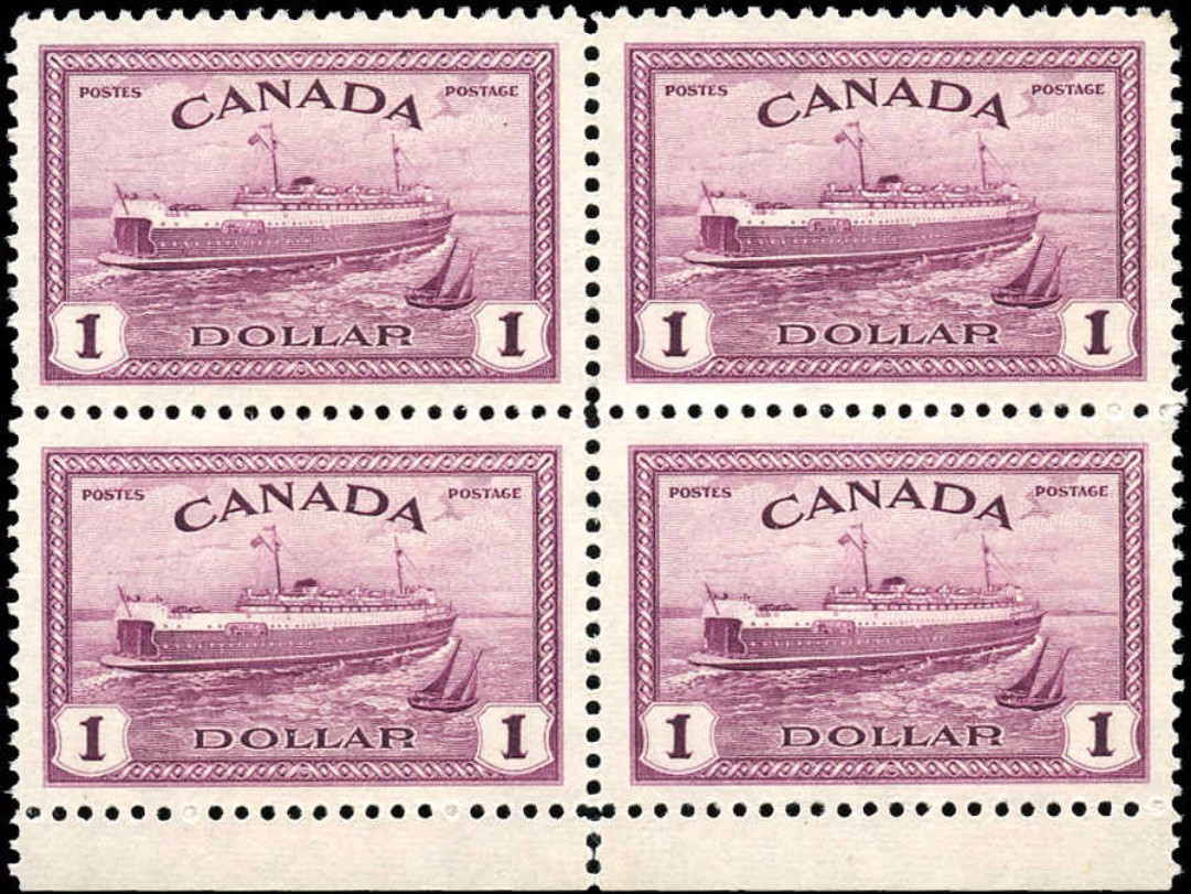Canada #273, Peace Issue, F-VF, MNH