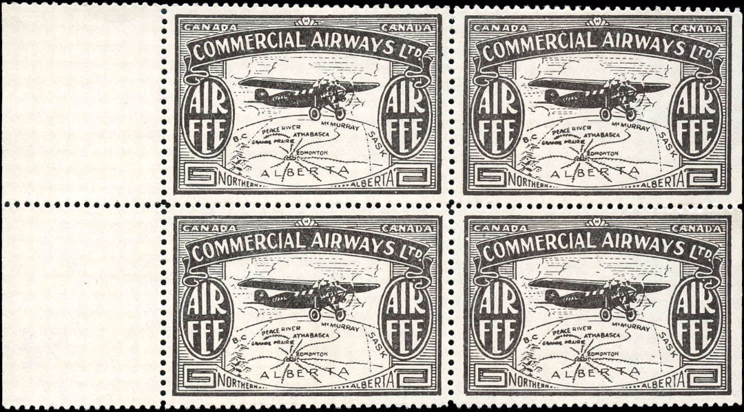 Canada #CL48, Air Post Semi-Official, VF, MNH