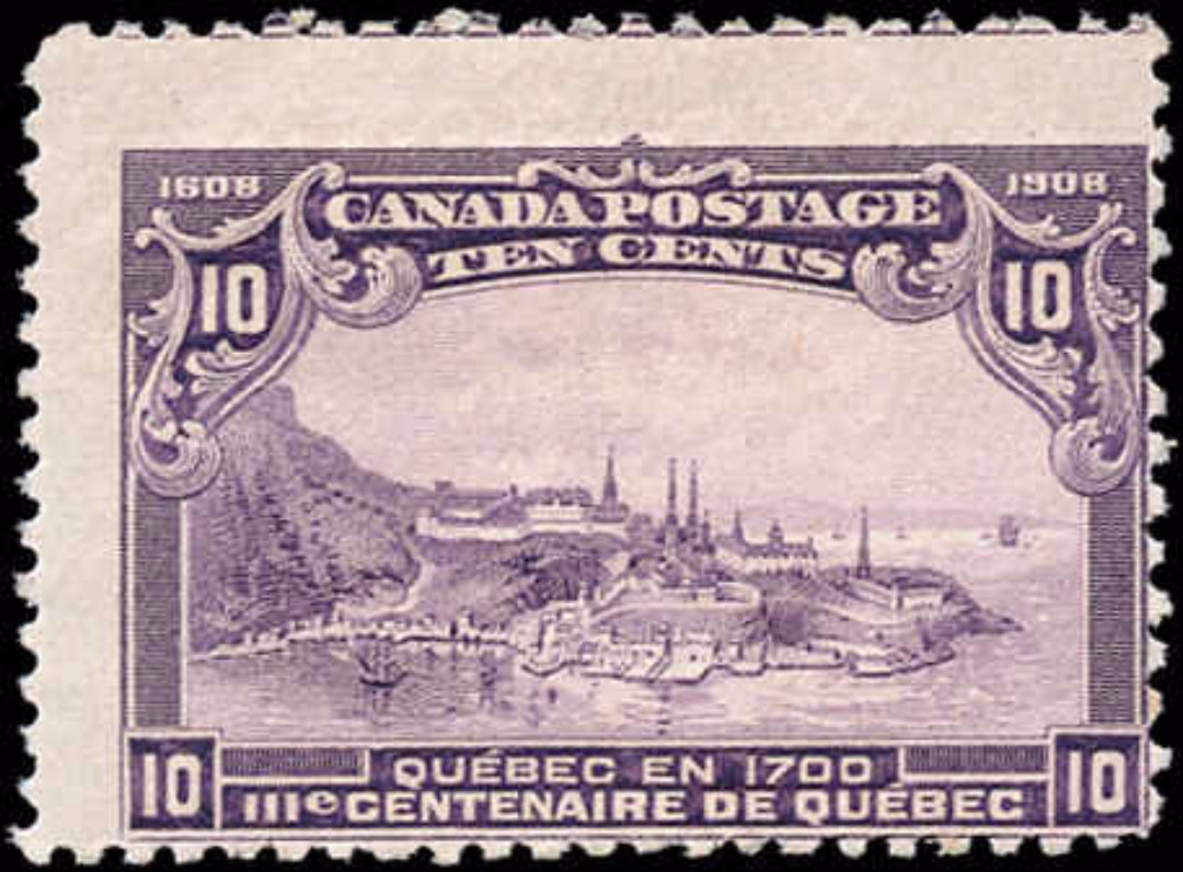 Canada #101, Tercentenary Issue, VG, MNH