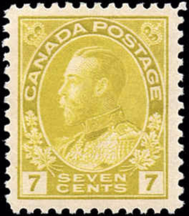 Canada #113, Admiral Issue, VF, MNH