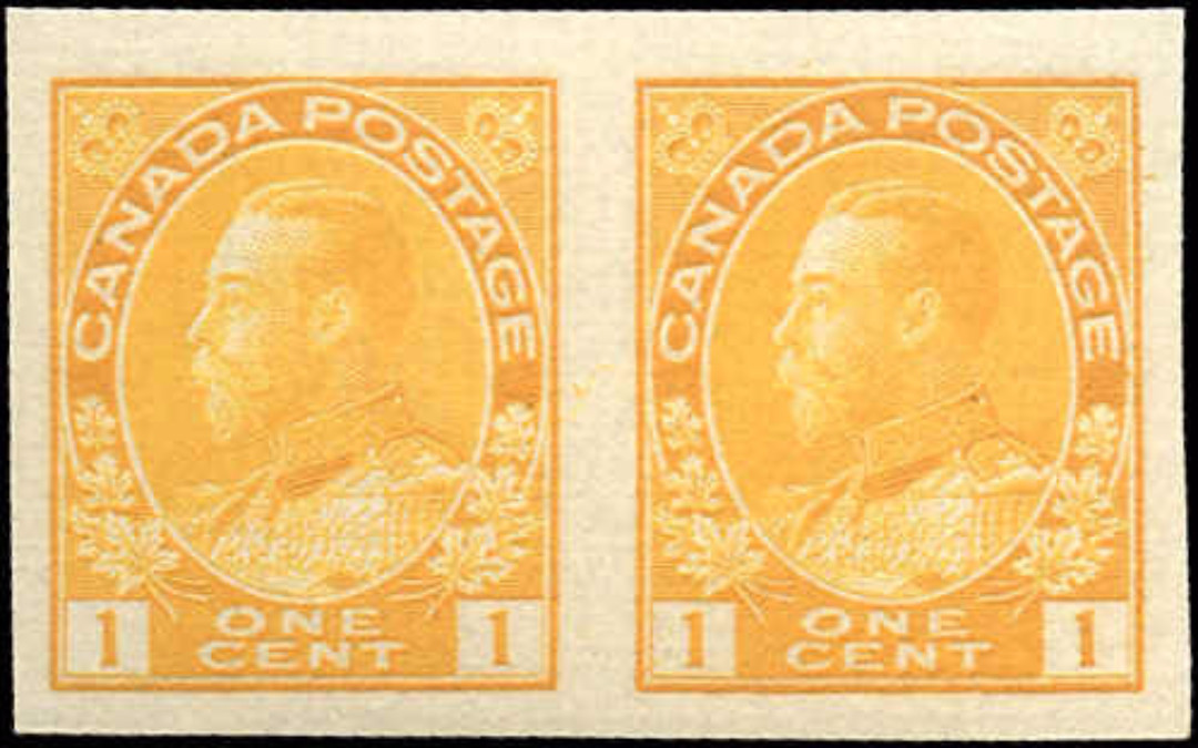 Canada #136, Admiral Issue, VF, MNH
