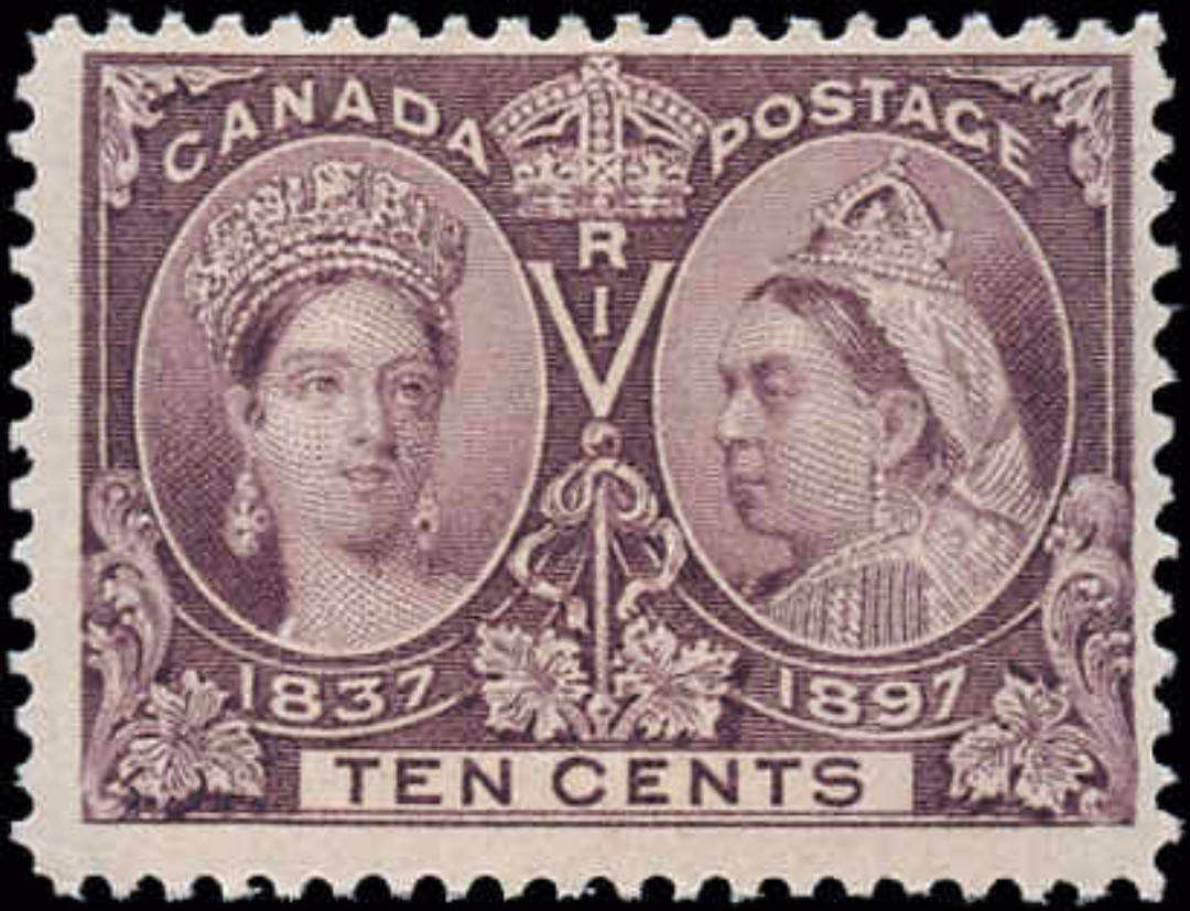 Canada ##57 Jubilee Stamp F-VF Mint NH
