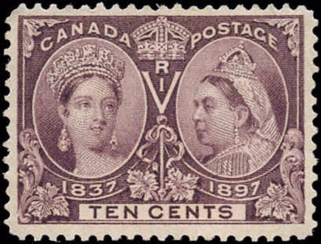 Canada ##57, Jubilee Issue, F, MNH