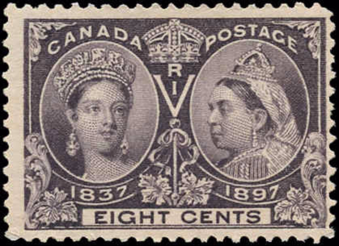 Canada ##56, Jubilee Issue, F, MNH